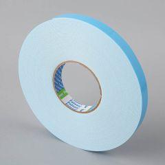 Folsen divpusējā līmlente 19mm x 25m x 1,1mm, balta, PE