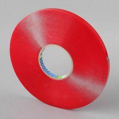 Folsen akrila divpusējā līmlente 12mm x 33m x 1mm, caurspīdīga