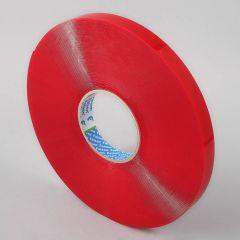 Folsen akrila divpusējā līmlente 19mm x 33m x 1mm,  caurspīdīga