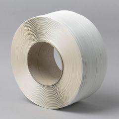 Spriegošanas lente 9mm х 0,55mm x 4000m, balta, PP